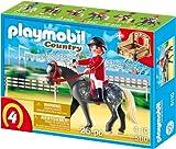 PLAYMOBIL 5110 - Trakehner mit braun-gelber Pferdebox