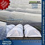 Thermovlies M850 Pro Garten-Vlies zur Pflanzenabdeckung sehr stabil und nähbar 85g/qm