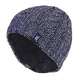 HEAT HOLDERS - Damen bunt Muster strickmütze warm wintermütze/mütze in 7 Farben (Blau)