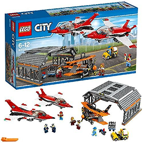 LEGO City 60103 – Große Flugschau, Kreatives Spielzeug