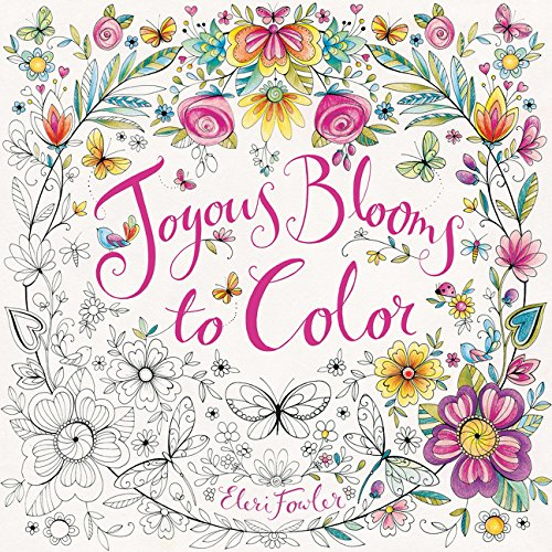 Joyous Blooms to Color por Eleri Fowler