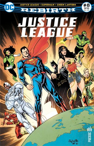 Justice League Rebirth 08 Les lascars reviennent  Central City !
