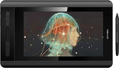 XP-Pen Artist 12 Grafikmonitor Drawing Pen Tablet Pen Display 1920 X 1080 HD IPS mit Touch Bar Zeichnen schwarz