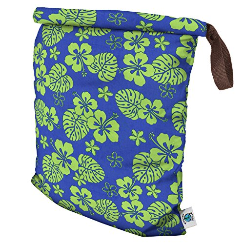 planet-wise-roll-down-wet-diaper-bag-blue-hawaii-large