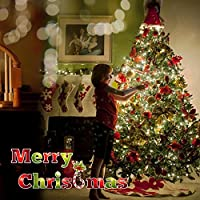 lederTEK Solar Powered Waterproof Fairy String Lights 72ft 22m 200 LED 8 Modes Christmas Decorative Lamp for Outdoor, Garden, Home, Wedding, Xmas Tree Year Party from lederTEK