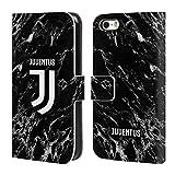 Head Case Designs Ufficiale Juventus Football Club Nero 2017/18 Marmoreo Cover a Portafoglio in Pelle per iPhone 5 iPhone 5s iPhone SE
