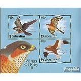 Gibraltar Bloque 47 (completa.edición.) 2001 Aviones de combate (sellos para los coleccionistas)