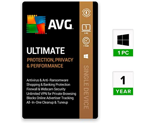 AVG Ultimate (Unlimited Devices | 1 Year) + AVG Antivirus for Android - Pro  (1 Device | 1 Year) : Amazon.in: Software