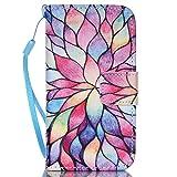 Meet de Samsung Galaxy S4 GT-i9505 Bookstyle Étui Housse étui coque Case Cover smart flip cuir Case à rabat pour Galaxy S4 GT-i9505 Coque de protection Portefeuille - couleur Lotus