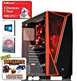 ADMI VR-1 Gaming PC: Intel Pentium G4560 3.5Ghz, GTX 1050Ti 4GB Graphics Card, HDMI, 8GB 2400MHz DDR4, 1TB HDD, Corsair SPEC-04 Glass Gaming Case, Windows 10, Wifi