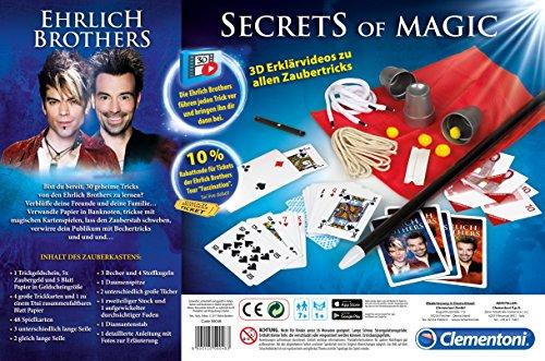 Clementoni-590483-Secrets-of-Magic