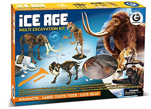 Geoworld CL470K - Ice Age Multi Excavation Kit