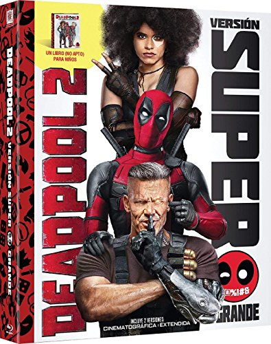 Deadpool 2 Blu-Ray + Libro (Versión Super $@%!#  Grande) [Blu-ray]