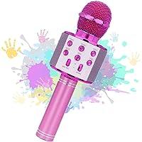 Rigrer Microphone de Karaoké sans Fil,Bluetooth karaoké Microphone Portable,Microphone Karaoké Enfant Bluetooth…