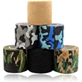 Tattoo Grip Cover - Rayyl 6PCS 2In Wegwerp Tattoo Grip Cover Tape Wrap Elastische Zelfklevende Bandage Adherent Wrap voor Tat