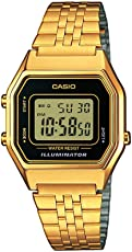 Casio Collection DamenRetro Armbanduhr LA680WEGA