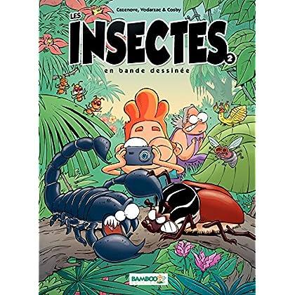 Les Insectes en BD: tome 2