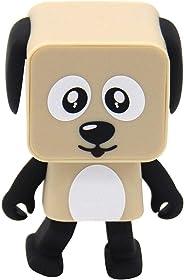 Wireless Bluetooth Dancing Speaker Lovely Little Dog Robot Mini Dog Portable Speaker