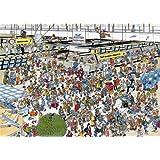 JUMBO 01648, J.v. Haasteren - Auf dem Flughafen, 1000 Teile