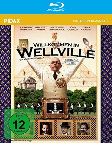 Willkommen in Wellville (The Road to Wellville) - Weltweit erstmals in HD / Starbesetzte Kult-Verfilmung des Romans von T. C. Boyle (Pidax Historien-Klassiker) [Blu-ray]