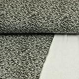 Stoffe Werning Sweatshirtstoff gesprenkelt grau Winterstoffe - Preis Gilt für 0,5 Meter -