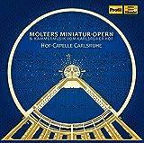 Molter, Johann Melchior : Cantates (Opéras Miniatures) & Musique À la Cour de Karlsruhe
