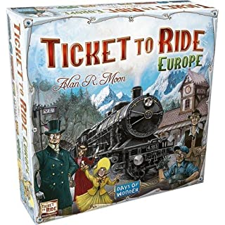 Days of Wonder DOW7202 Ticket to Ride Europe