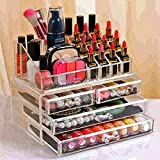#8: Shag Cosmetic Organizer Makeup Storage Box Lipstick Holder Stand