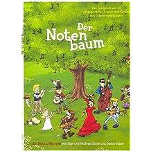 Wolfram Eicke: DER NOTENBAUM -- Klavierausgabe mit Bleistift des beliebten Kindermusicals mit Gesangstimme, Gitarrenakkorden und dem kompletten Text - Noten/sheet music