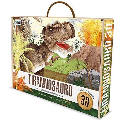 L'era dei dinosauri. Tirannosauro 3D. Ediz. a colori. Con gadget