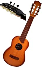 Shop & Shoppee® 6-String Wooden Finish Big Size Classical Acoustic Musical Guitar with Adjustable Tuning Knobs (Multicolor)