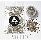 Army Green : New 10g Silver Holographic Chunky Glitter Festival Beauty Makeup Face Body Hair Nails
