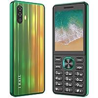 I KALL K444 Dual Sim Smart Series Keypad Mobile (2.4 Inch, Super Torch, 2500 mAh Battery) (Green)