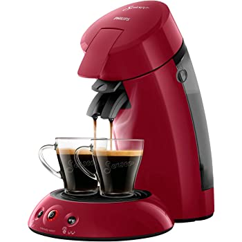 Philips HD6554/91 Machine à Café à Dosettes Senseo Original Rouge Intense 0, 75 Litre