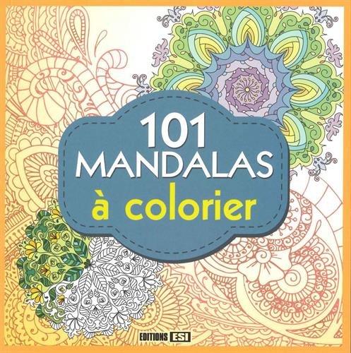 101 mandalas à colorier