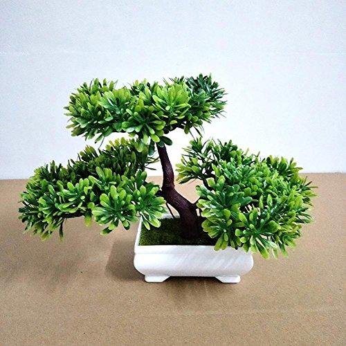 künstliche Bonsai Künstliche Bonsai-Baum Pflanzen Dekoration 2018 Classic Decoration Home Hochzeit Lucky Dekoration Deko Pflanze,Feng Shui Deko,Japanischer Pinien,Höhe ca.