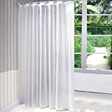 Robe de douche de haute qualité pour salle de bain épaisse imperméable à l'eau coupe le rideau de douche PEVA matte ( taille : 80*180cm )