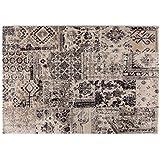 Alfombra estilo patchwork Vintage en varios tonos de beige – alfombra Sitap arredo moderno Laguna 63312 – 6333