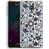 Samsung Galaxy A3 (2016) Housse Étui Protection Coque Thé heure temps Motif Motif