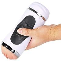 Allpro Massaggiatore Elettrico, Massaggiatore a Compressione, 10 modalità, Funzione di Riscaldamento (Doppia entrata…