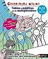 Coloriages malins BIC - Tables d'addition et de multiplication magiques - CM1/CM2, 9/11 ans par Aubrun