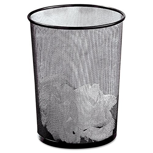 rolodex-mesh-round-wastebasket-11-1-2-diameter-x-14-1-4-h-black-22351-by-rolodex