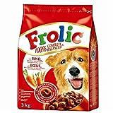 Frolic | Rind, Karotten und Getreide | 3 kg