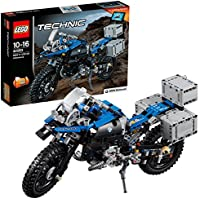 LEGO 42063 Technic BMW R 1200 GS Adventure Motorbike, 2 in 1 Model