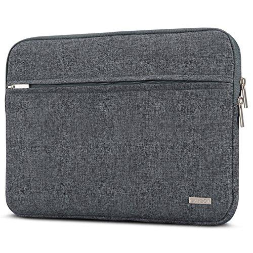 CASEZA Laptophülle 13-13.3 Zoll Anthrazit Melange Milan Laptop Sleeve Laptoptasche Hülle für ASUS Acer Dell Samsung Toshiba Surface Book UVM. - Notebook Tasche aus recycelten PET Flaschen