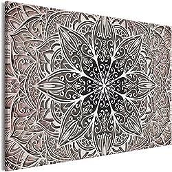 murando Cuadro Mandala 120x80 cm 1 Parte impresión en Material Tejido no Tejido artística fotografía Imagen gráfica decoración de Pared 1 Parte Orient Zen SPA f-A-0637-b-c
