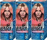 Schwarzkopf Live Pastel Spray Cotton Candy 125ml, 3Stück