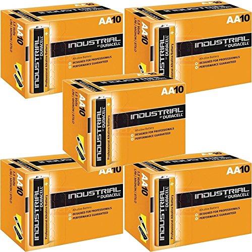 Duracell AA Industrial batteria alcalina (confezione da 50)
