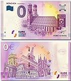 0EURO 0 EURO Souvenir Note München Frauenkirche 2018