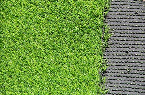 Mitefu Three-toned Gazon artificiel Lame de 3 cm Hauteur Naturel pelouse Paysage Faux Herbe artificielle anti-usure de territoire Carreaux Plusieurs Applications Printemps Couleur Plusieurs tailles en option 101.6x213cm Spring color